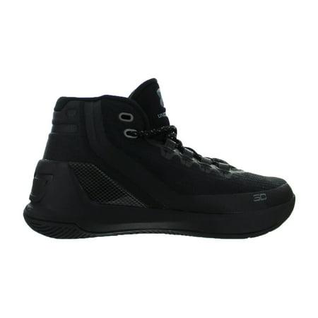 2a7623dbb318 Under Armour - Kids Under Armour Curry 3 GS Triple Black 1274061-001 -  Walmart.com
