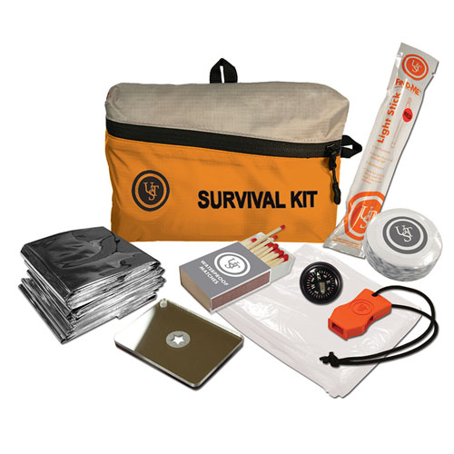 Ultimate Survival Technologies FeatherLite Survival Kit, Orange, 1.0 by Ultimate Survival Technologies
