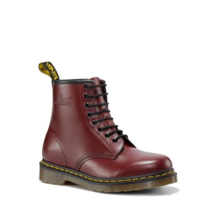 Mens Triumph 1460 Boot - Dr. Martens Men's 1460 8-Eye Smooth Cherry Red Ankle-High Leather Boot - 10M