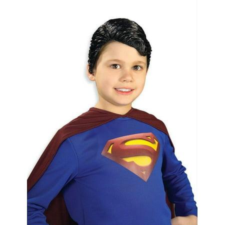 Superman Vinyl Child Wig - image 1 de 1
