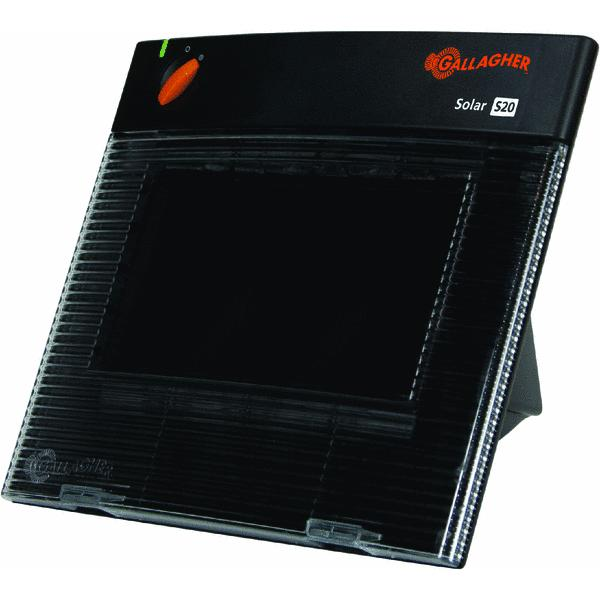 gallagher s22 solar electric fence charger