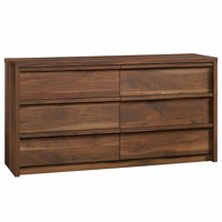 Pemberly Row 6 Drawer Dresser in Grand Walnut