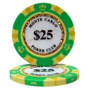 """""""Roll of 25 $25 Monte Carlo 14 Gram Poker Chips"""" by BryBelly"""