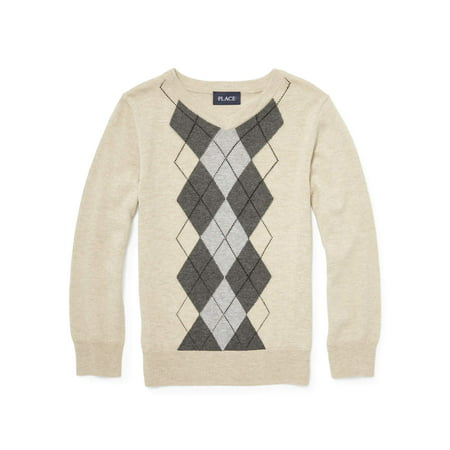 Sweater For Boys (Pull Over Argyle Sweater (Little Boy & Big)
