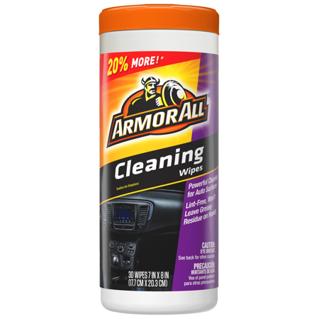 Armor All Cleaning Wipes, 30-Count, Car Cleaning, Auto