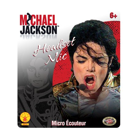 Michael Jackson Microphone Headset - Michael Jackson Makeup Halloween
