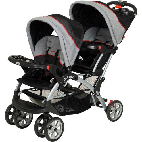 Baby Trend - Sit N Stand Plus Double Stroller, Millennium