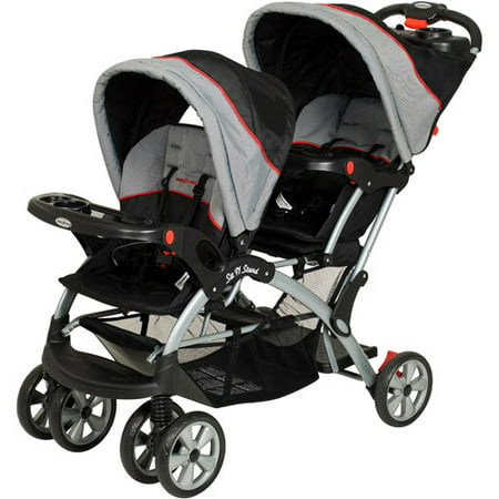 Baby Trend - Sit N Stand Plus Double Stroller, (Baby Trend Sit And Stand Double Stroller Liberty)
