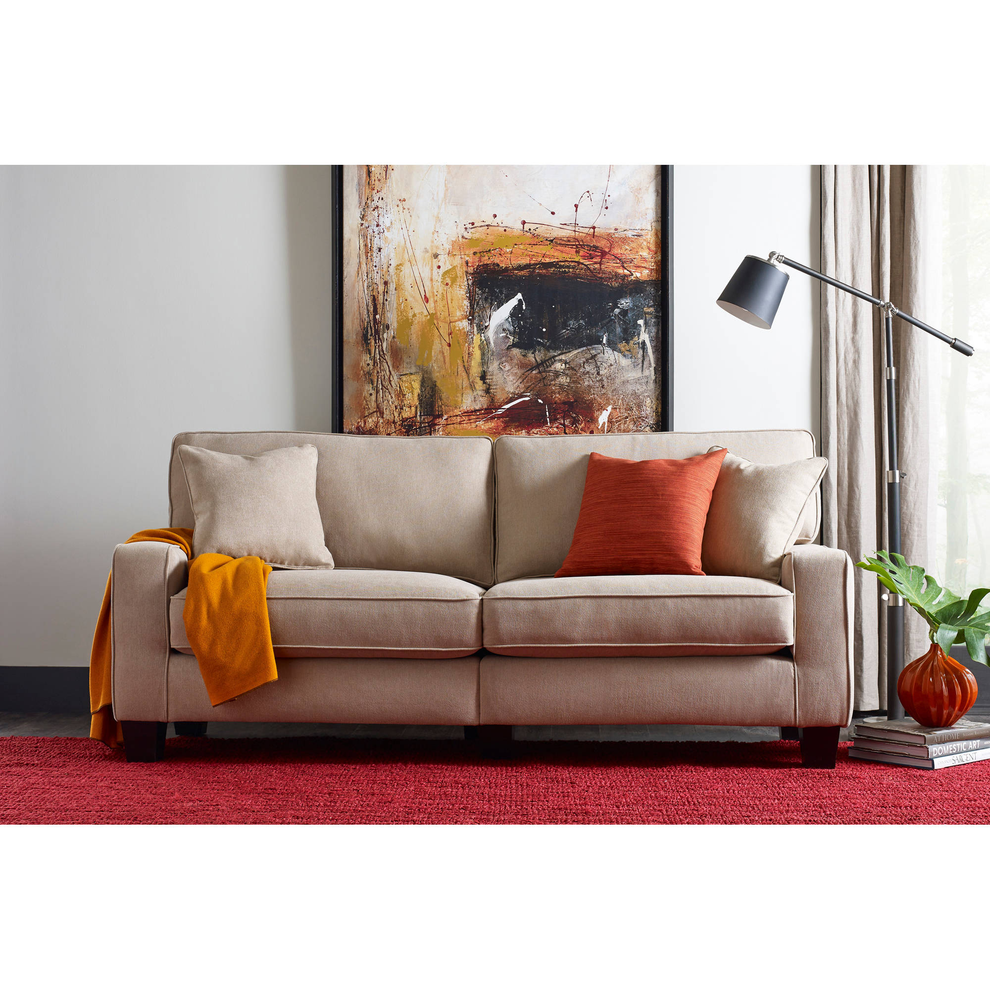 "Serta RTA Palisades Collection 78"" Sofa, Multiple Colors"