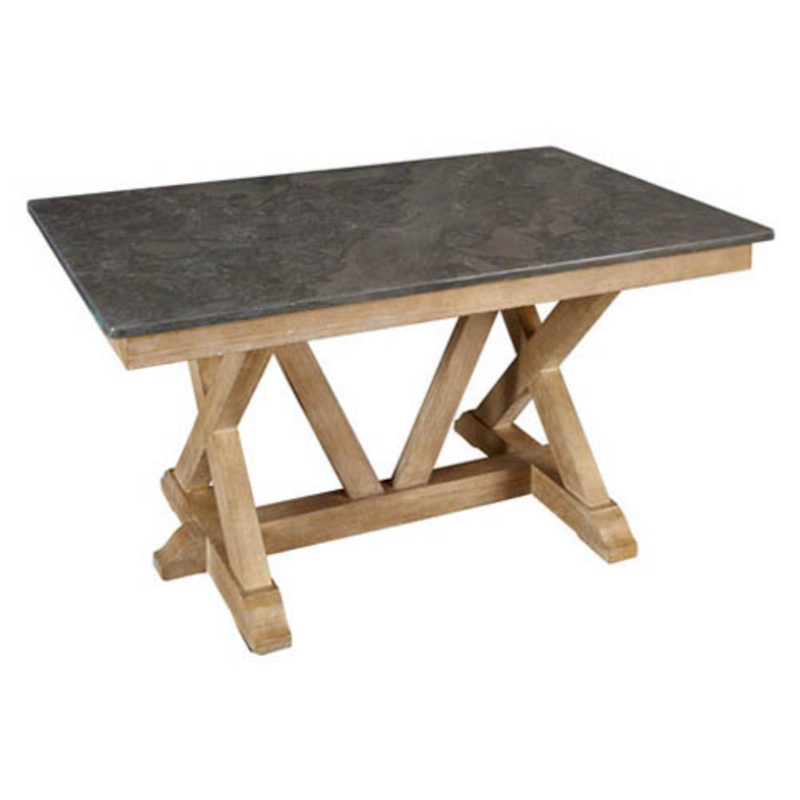A-America West Valley Rectangular Bluestone Table