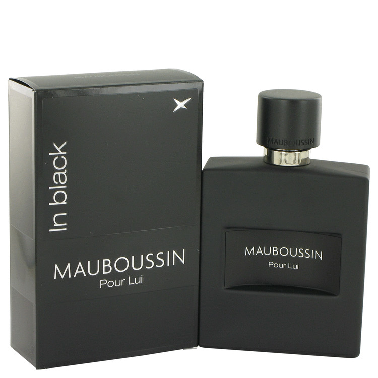 Mauboussin Mauboussin Pour Lui In Black Eau De Parfum Spray for Men 3.4 oz
