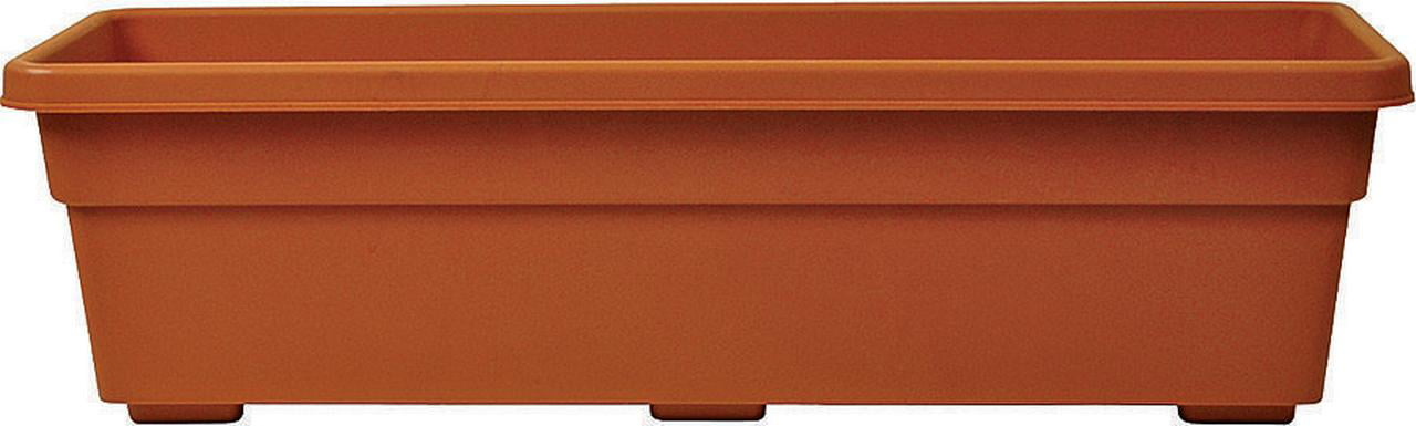 Southern Patio Dynamic Design PW2412TC Durable Promotional Rolled Rim Window Box Planter,... by AMES/TRUE TEMPER INC