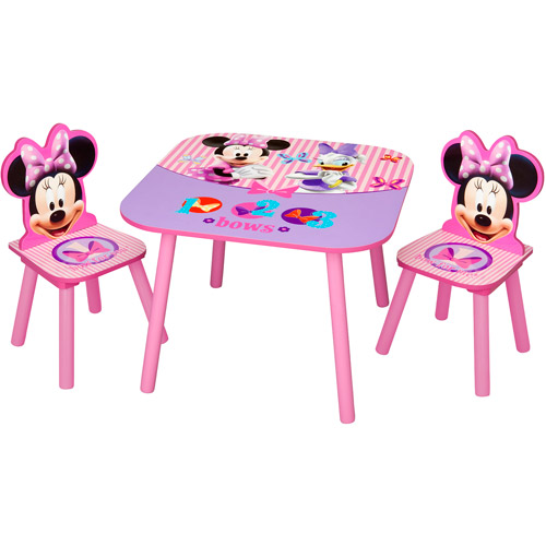 Disney - Minnie Mouse Activity Table and Chairs Set