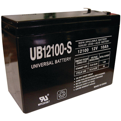 UPG 85968/D5719 Sealed Lead Acid Batteries (12V; 10 AH; UB12100S)