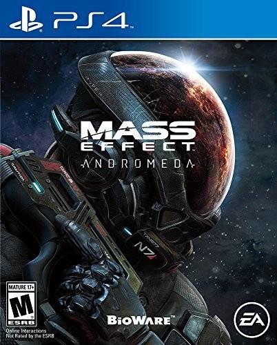 Mass Effect Andromeda, Electronic Arts, PlayStation 4, 014633368895