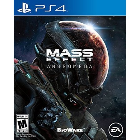 Mass Effect Andromeda, Electronic Arts, PlayStation 4, 014633368895