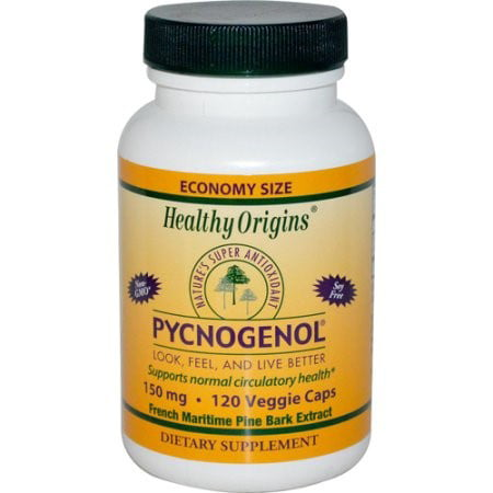 Healthy Origins Pycnogenol - 150 mg - 120 Vegetarian