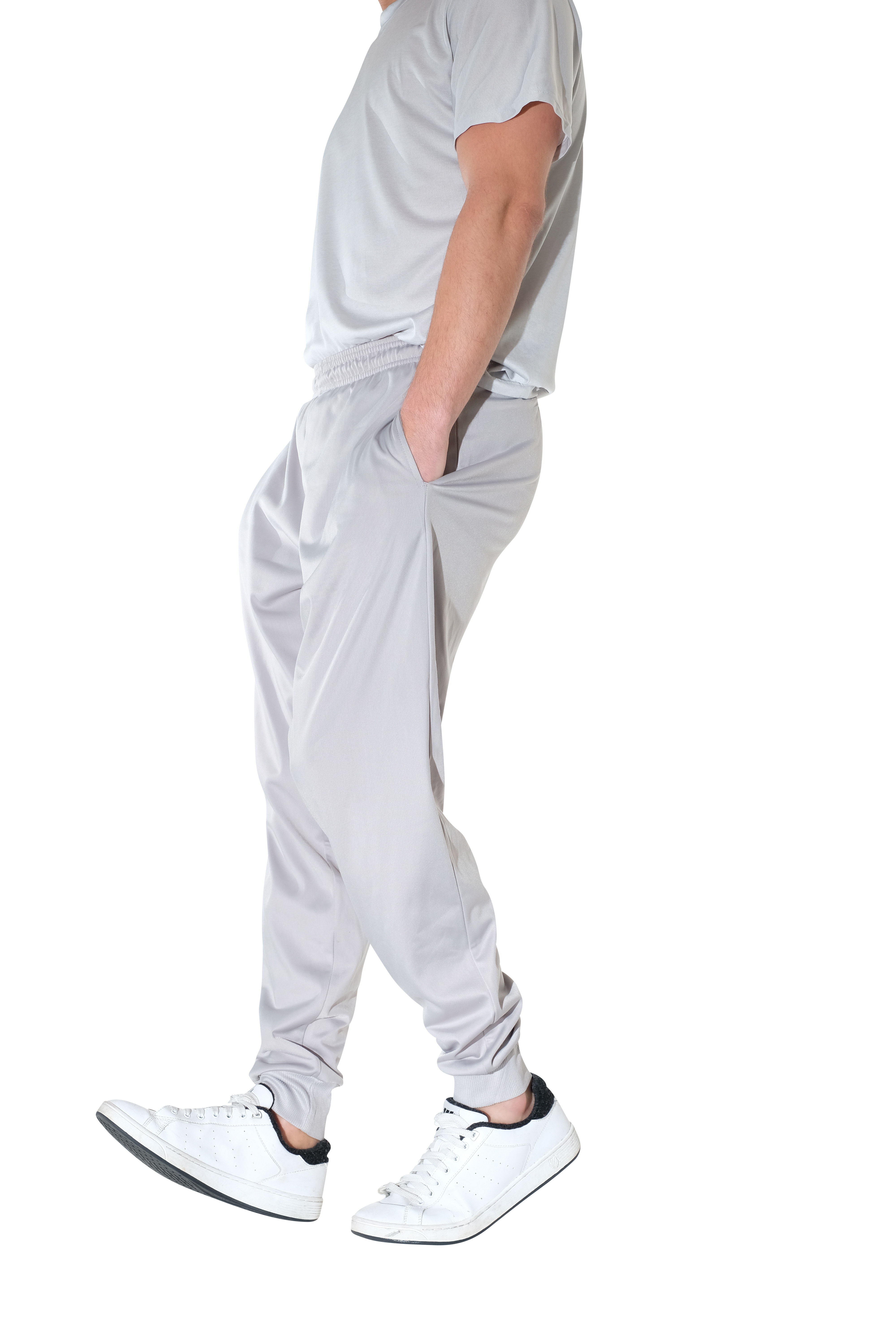 Mens Active Athletic Casual Jogger Sweatpants with Pockets Real Essentials 3 Pack