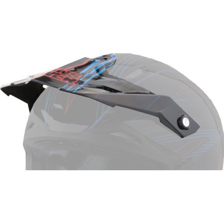 Answer Replacement Visor for Nova Syncron Helmet Red One Size 454579 (Nova Replacement Visor)