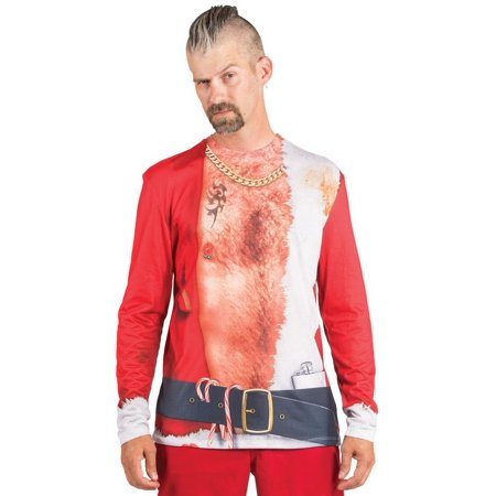 Faux Real F123150 Bad Santa T-Shirt Costume-M