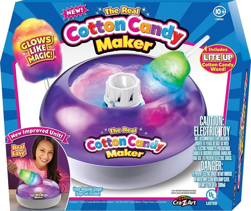 Deluxe Cotton Candy Maker with Lite Up Wand