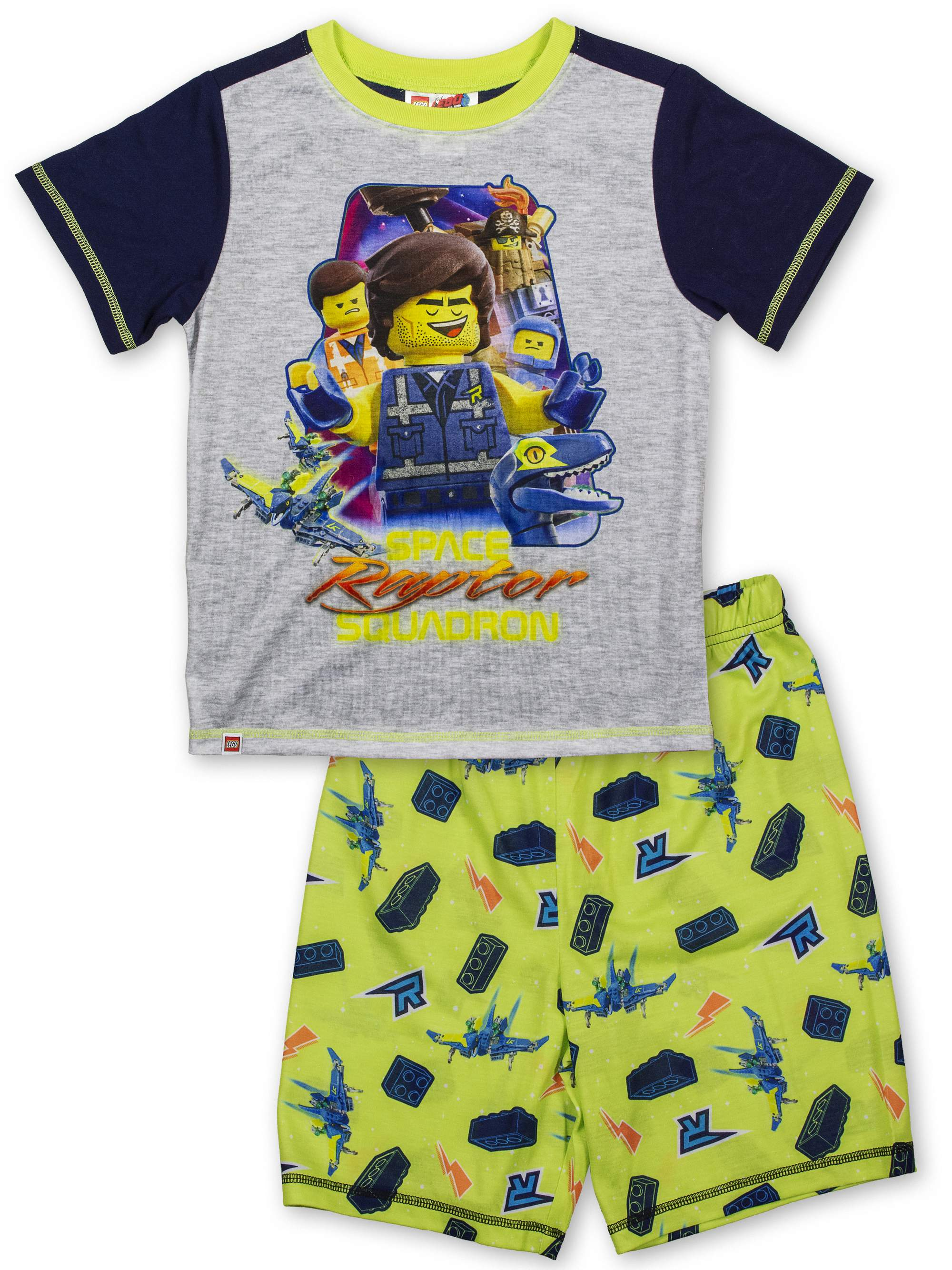 Boys' Lego Movie 2 2 Piece Pajama Sleep Set (Little Boy & Big Boy)