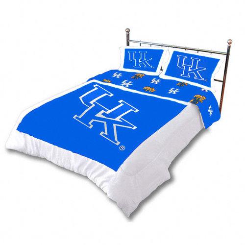 NCAA - Kentucky Wildcats 3-Piece Comforter Set - King