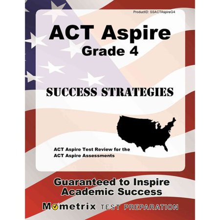 Image of ACT Aspire Grade 4 Success Strategies Study Guide: ACT Aspire Test Review for the ACT Aspire Assessments