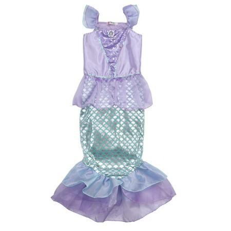 Homemade Ariel Costume (Lookwoild Ariel Mermaid Set Cute Girl Princess Fancy Dress Party Cosplay)