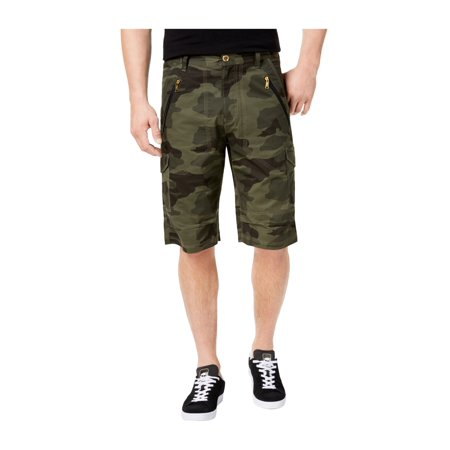 Sean John Mens Flight Casual Cargo Shorts camo 34 ()