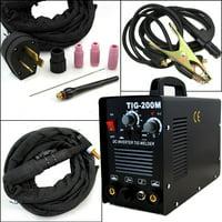 Stark 2in1 200A TIG / ARC Welder Machine Inverter DC Welding Machine 220V Voltage -Black