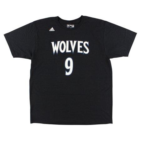 adidas - Adidas Mens Minnesota Timberwolves NBA Ricky Rubio T Shirt ... fb8ed6512