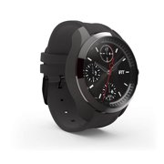 iFit Men's Classic, Watch and Fitness Tracker, Black