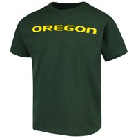 Oregon Ducks Russell Athletic Youth Oversized Graphic Crew Neck T-Shirt - Green