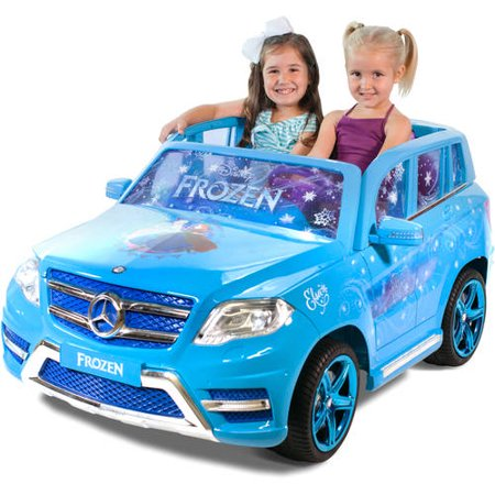 Disney Frozen Mercedes 12-Volt Battery Powered Ride-On - Riding in