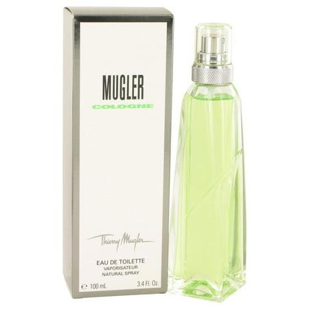 Thierry Mugler Cologne Eau De Toilette Spray (Unisex) for Men 3.4 oz