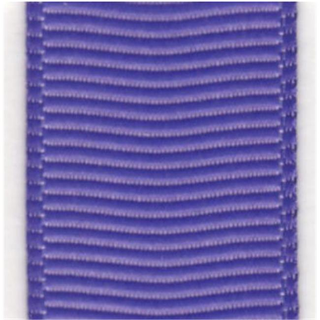 Papilion R07420209046420YD .38 in. Grosgrain Riobbon 20 Yards - Delphinium
