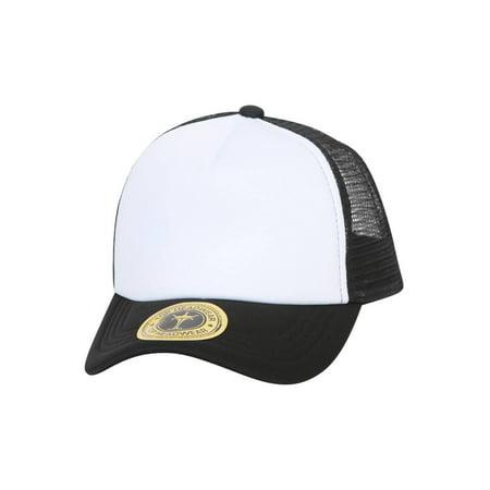 TopHeadwear Low Profile Trucker Foam Mesh (2008 Trucker Hat)