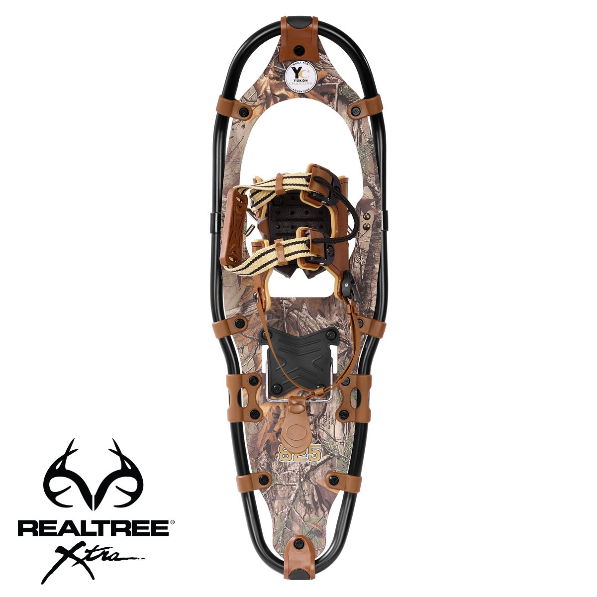 Yukon Charlie's REALTREE Xtra Aluminum Snowshoes 9x30 (up to 250lbs) Wood Camo by