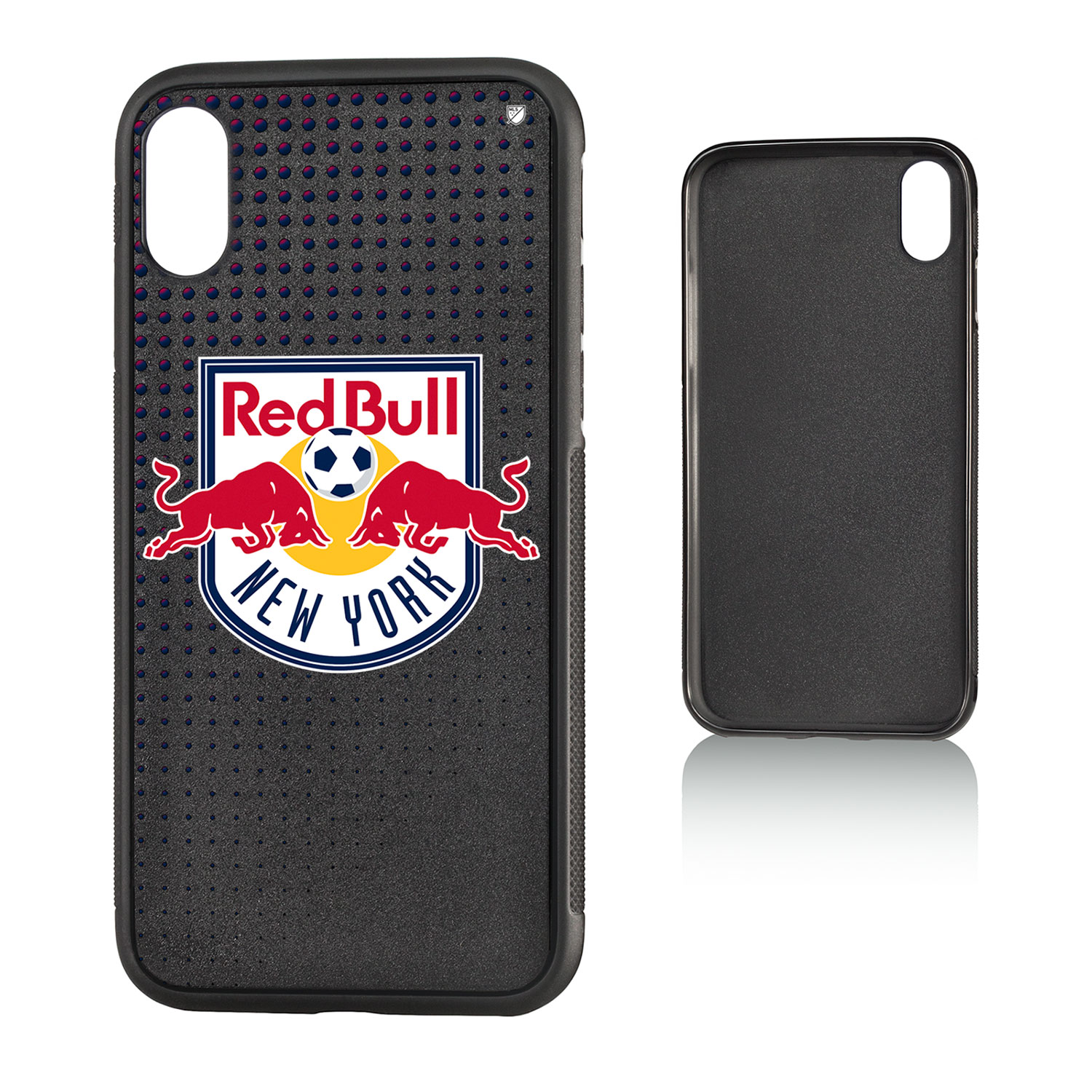 New York Red Bulls RED BULLS Dots Bump Case for iPhone X