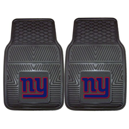 New York Giants 2-pc Vinyl Car Mats