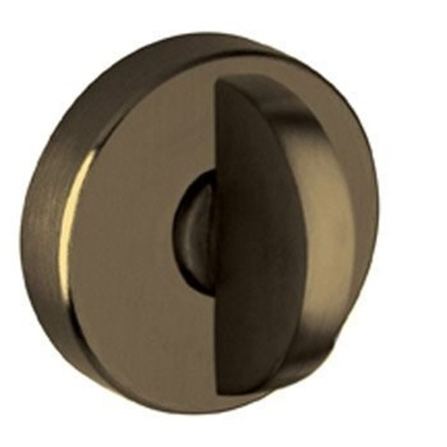 "Baldwin 6750 Interior and Entrance Lock with Backplate for 2-1/4"" Doors, Oil Rubbed Bronze"