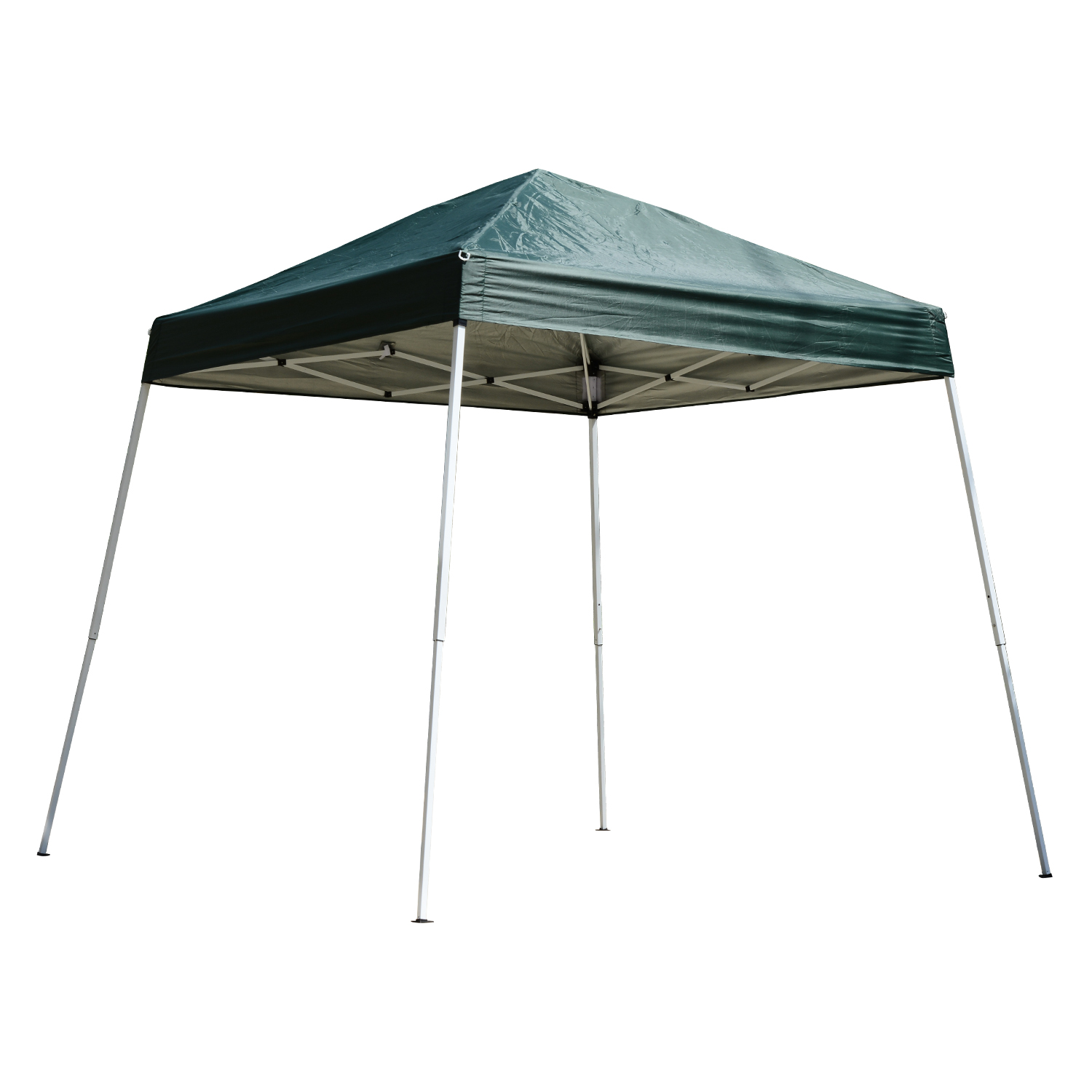 Outsunny 8' x 8' Slant Leg Pop Up Canopy Tent - Green