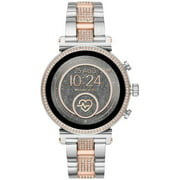 Michael Kors - Access Sofie Heart Rate Smartwatch 41mm Stainless Steel - Rose and Silver Stainless Steel