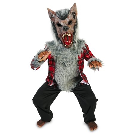 Howling Werewolf Child Costume](Baby Werewolf Costume)