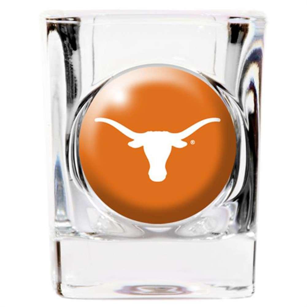 Texas Longhorns Shot Glass - Square 2oz