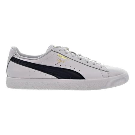 Puma Clyde Core L Foil Men's Shoes White/New Navy/Gold  364669-02