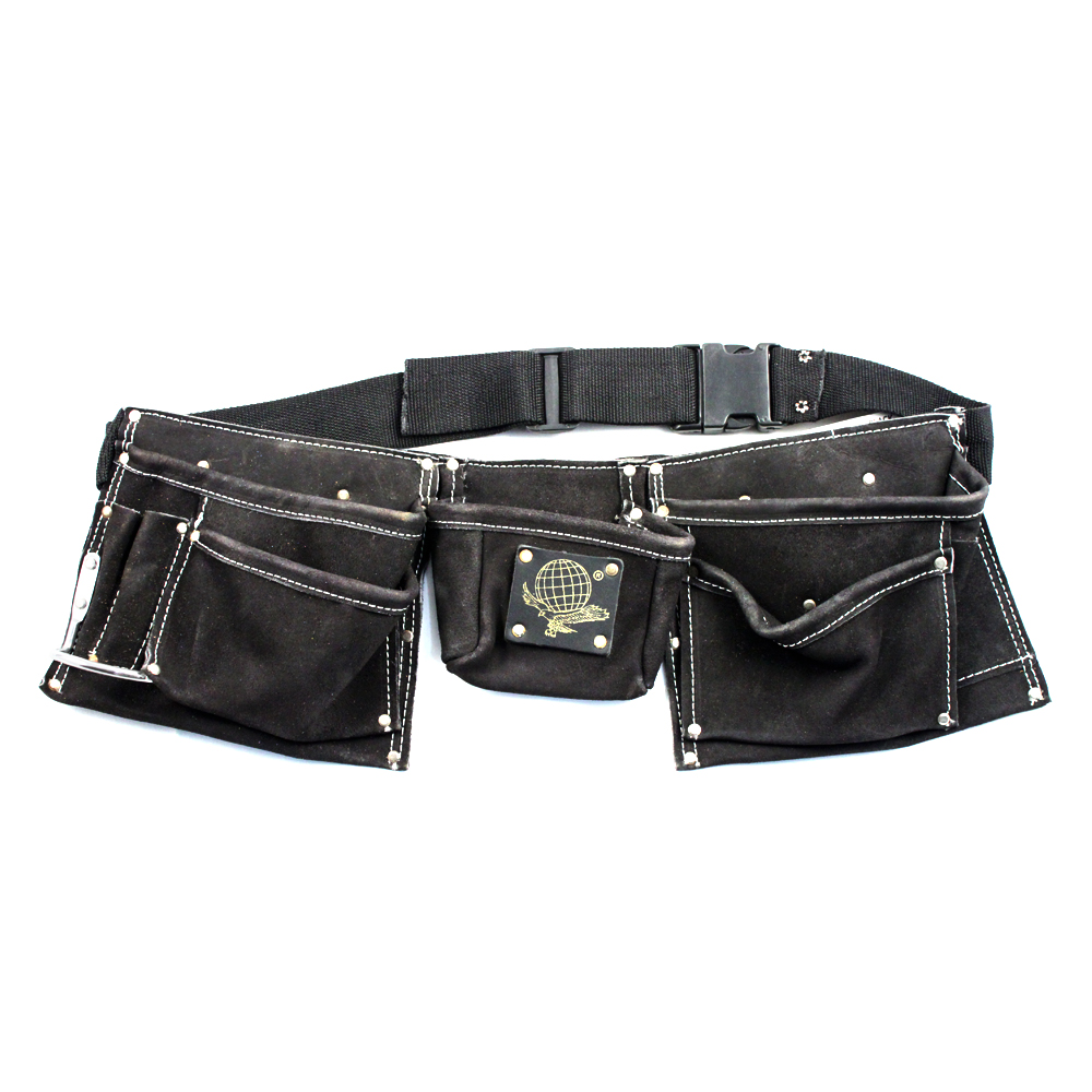 9 Pocket Tool Belt Heavy Duty Construction (4 Colors) by Universal Tool