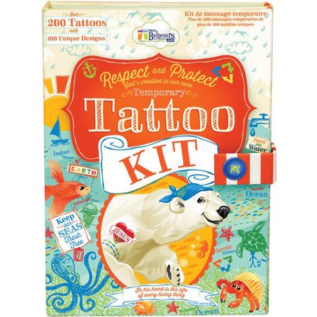 Ocean Tattoo Kit (Ocean Themed Tattoos)