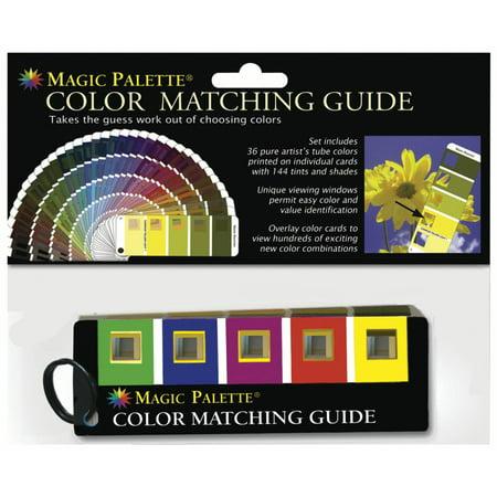 Magic Palette Color Matching Guide (Magic Palette)